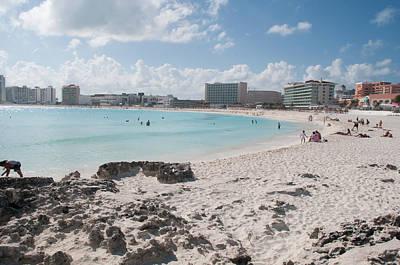 Digital Art - Cancun Beach Scenes by Carol Ailles