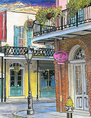 New Orleans Drawing - 10  Carre Vieux by John Boles