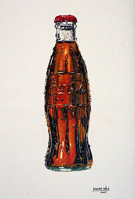 Cocacola Drawing - 10 Cent Coke by Duncan  Way