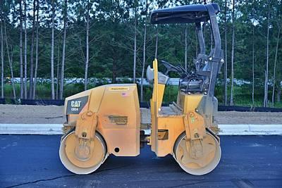 10 - Steamroller - Construction Equipment Photos Series  Art Print