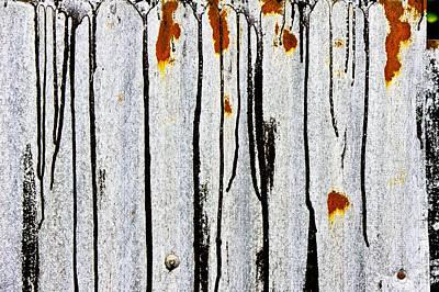 Corrugated Metal Art Print