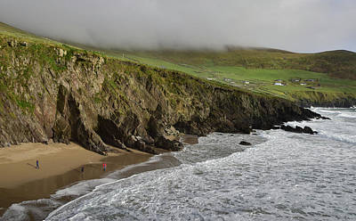 Photograph - Coumeenole Beach by Barbara Walsh