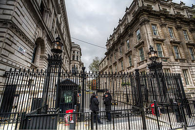 Photograph - 10 Downing Street by Walt  Baker