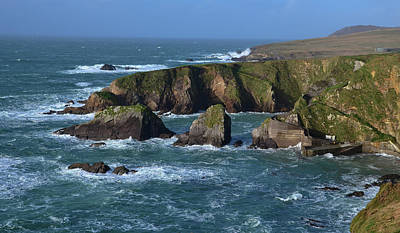 Photograph - Dunquin Pier by Barbara Walsh