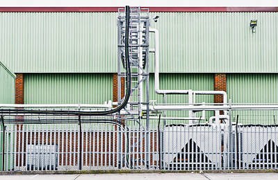 Factory Art Print by Tom Gowanlock