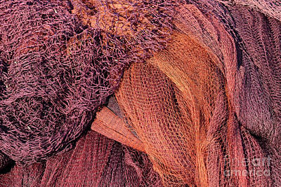 Photograph - Fishing Nets by George Atsametakis