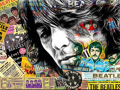 Harrison Mixed Media - George Harrison Collecton by Marvin Blaine