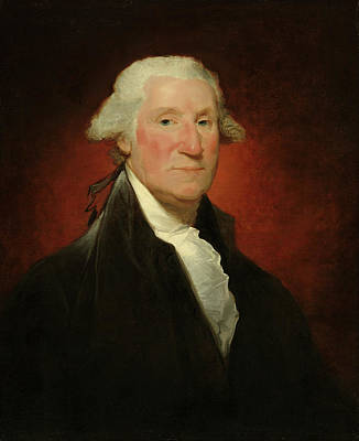 Politicians Royalty-Free and Rights-Managed Images - George Washington by Gilbert Stuart