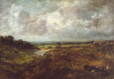 Branch Hill Pond Painting - Hampstead Heath by John Constable