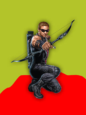 Hawkeye Collection Art Print by Marvin Blaine