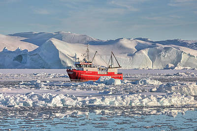 Greenland Photograph - Icefjord - Greenland by Joana Kruse