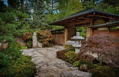 Movies Star Paintings - Japanese Garden by Bob Nardi