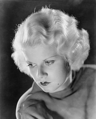Beauty Mark Photograph - Jean Harlow (1911-1937) by Granger