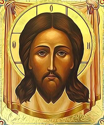 Jesus Christ Catholic Art Art Print