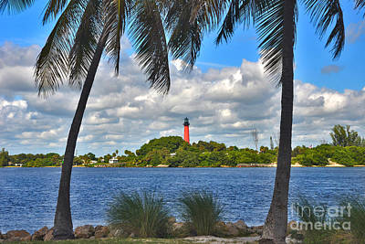 Photograph - 10- Jupiter Lighthouse by Joseph Keane