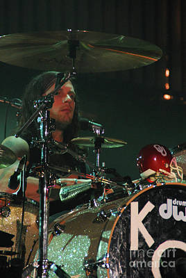 Kings Of Leon Photograph - Kings Of Leon  by Jenny Potter