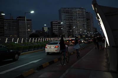 Digital Art - Lima Centro Streetscenes by Carol Ailles