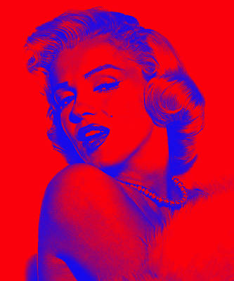 Marilyn Monroe Collection Art Print