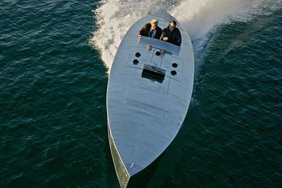 Ultimate Luxury Photograph - Mercury Race Boat by Steven Lapkin