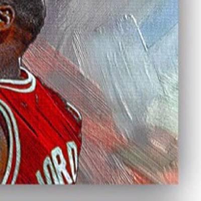 Bull Photograph - Michael Jordan. Air Jordan. The by David Haskett