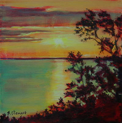 Painting - 10 Mile Point, Manitoulin Island - 008 Of Celebrate Canada 150 by Sheila Diemert