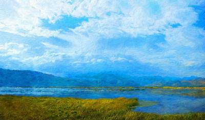 Outdoors Painting - Nature Landscape Paintings by Margaret J Rocha