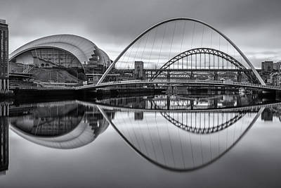 Photograph - Newcastle Quayside by David Pringle