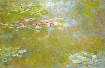 Monet Painting - Nympheas by Claude Monet