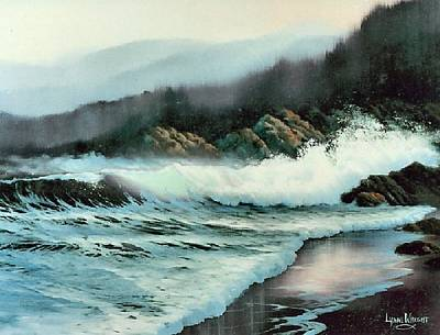 Fading Painting - 10 O'clock Mist by Lynne and Don Wright