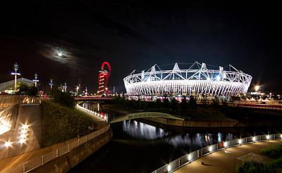 Olympic Park Art Print