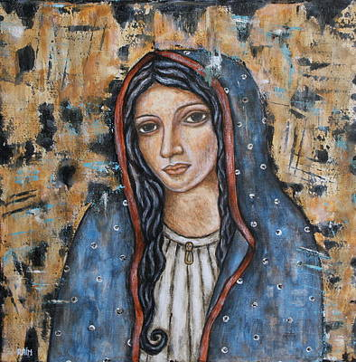 Our Lady Of Guadalupe Painting - Our Lady Of Guadalupe by Rain Ririn