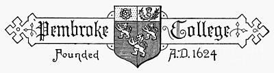 Oxford: Coat Of Arms Art Print