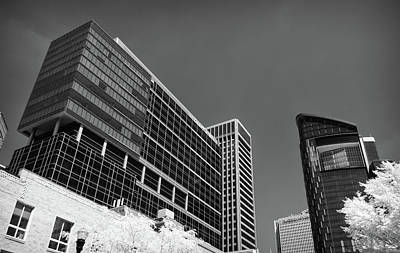 Pittsburgh Infrared Architecture Art Print