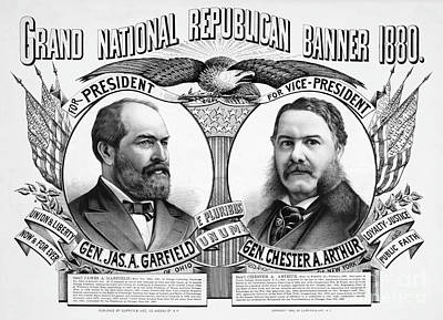Drawing - Presidential Campaign, 1880.  by Granger