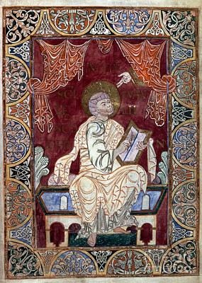 Evangelical Painting - Saint John by Granger