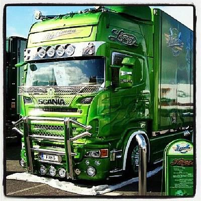 Truck Photograph - #scania #truck #lkw #truckfest #nordic by Daniel Eder
