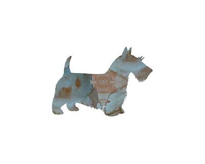 Scottish Terrier Watercolor Painting - Scottish Terrier by Mordax Furittus