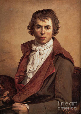 Artist Self Portrait Painting - Self Portrait  by Jacques-Louis David