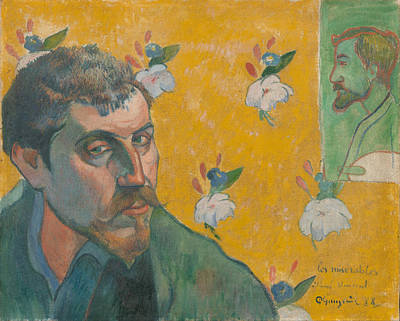 Painting - Self Portrait by Paul Gauguin