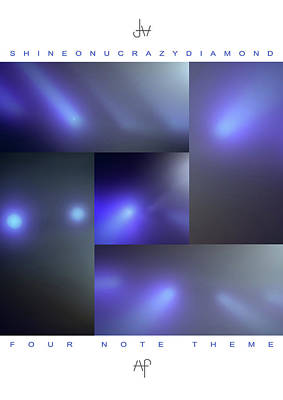 Photograph - 10 Shine On You Crazy Diamond Part1 - 4 Note Theme by David Hargreaves