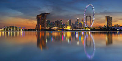 Singapore Art Print by Anek Suwannaphoom