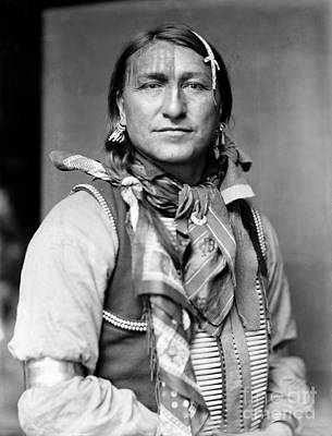 Sioux Native American, C1900 Art Print by Granger