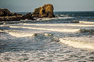 Photograph - Soberanes And Cliffs On Pacific Ocean Coast California by Alex Grichenko