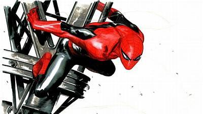 Car Digital Art - Spider-man by Super Lovely