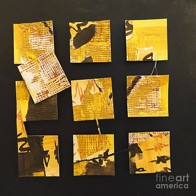 Painting - 10 Square by Gallery Messina
