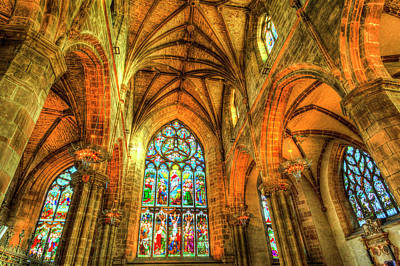 Photograph - St Giles Cathedral Edinburgh Scotland by David Pyatt