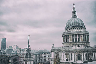 Wren Photograph - St Pauls Cathedral by Martin Newman