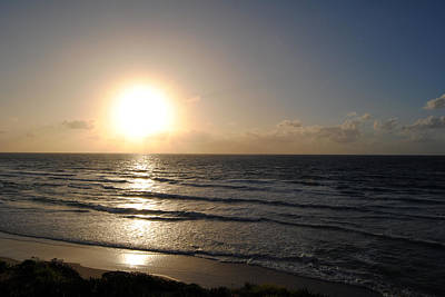 Photograph - Sunset At Jaffa Beach 6 by Isam Awad
