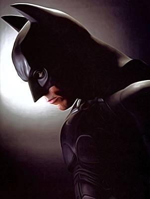 The Batman Movie Print Print by Egor Vysockiy