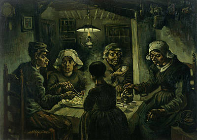 Painting - The Potato Eaters by Vincent van Gogh